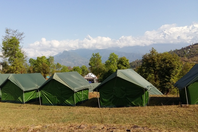 Tented Camp - Nepal.