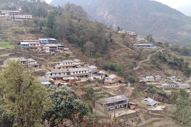 Village Tour in Nepal.